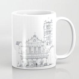 Basilica di Santa Cecilia in Trastevere Coffee Mug