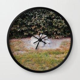 Rock pile Wall Clock