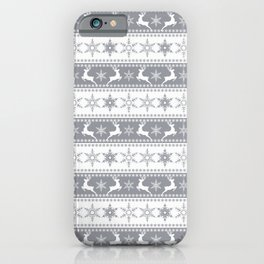 Christmas pattern . iPhone Case