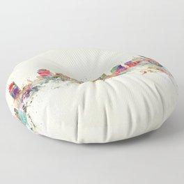 city nashville tennessee Floor Pillow