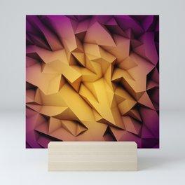 3D Low Poly 1 Mini Art Print