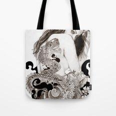 The Dragon's Gate Tote Bag
