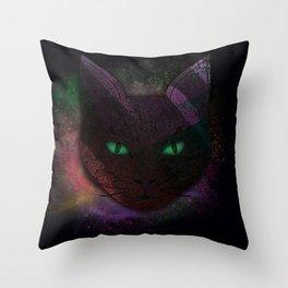 Watching Cat Throw Pillow