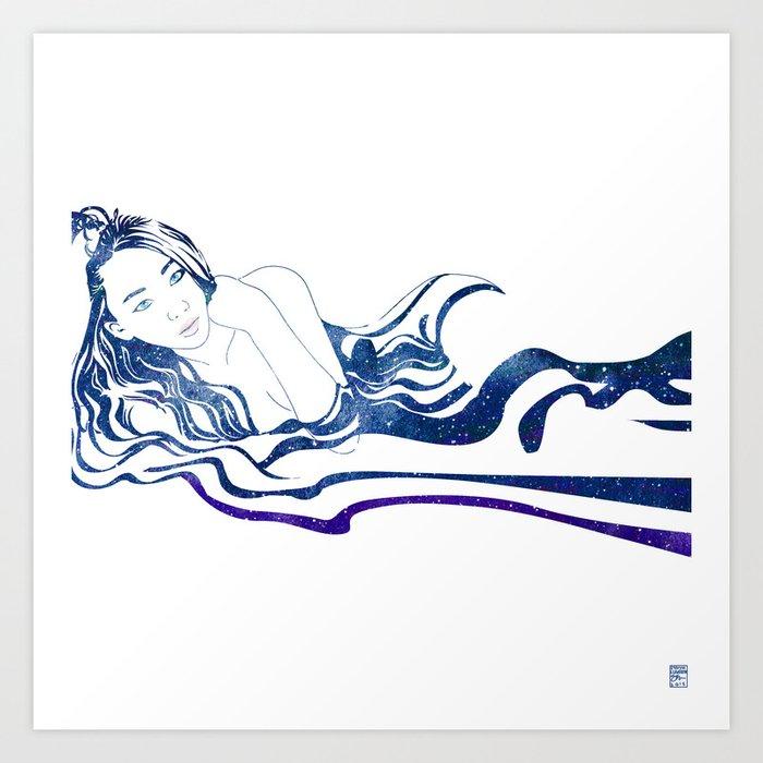 Water Nymph XIII Art Print