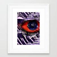 birdman Framed Art Prints featuring BirdMan by John Hansen