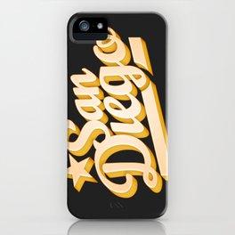 San Diego iPhone Case