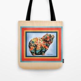 Aqua-Piggy Tote Bag