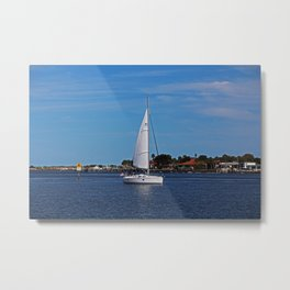 St Augustine Sail Metal Print