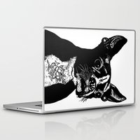 mother Laptop & iPad Skins featuring Mother by John C Thurbin