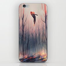smoulder iPhone & iPod Skin