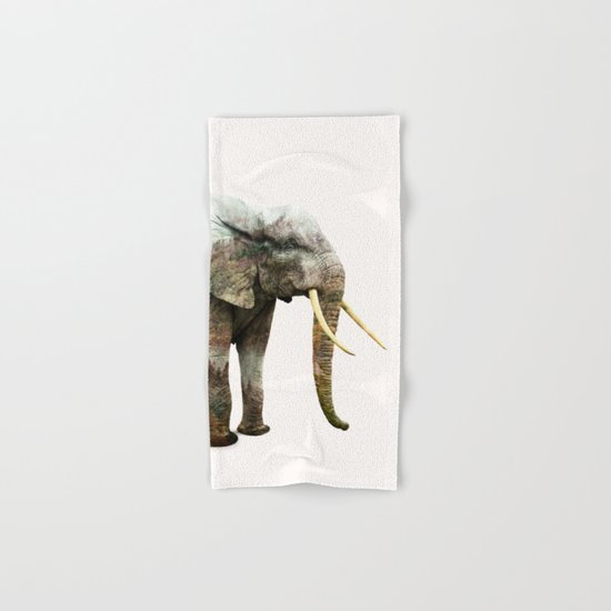 Elephant Transformation #society6 #decor #animalprint Hand & Bath Towel