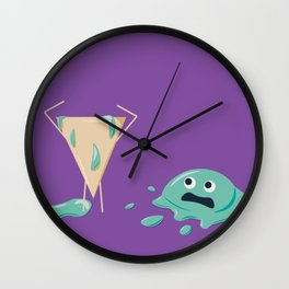 Another Ice Cream Tragedy Wall Clock