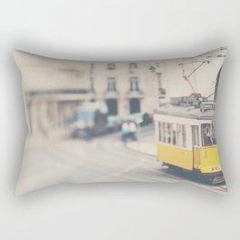 city trams ...  Rectangular Pillow
