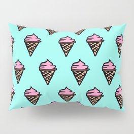 Ice Cream Cone Pillow Sham