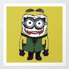 Joker Minion Art Print