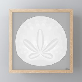 Humboldt Sand Dollar Framed Mini Art Print