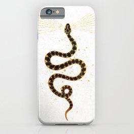 Dark Snake Inktober :: Sleep Copiously iPhone Case