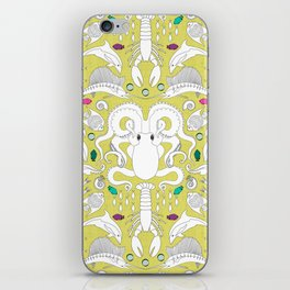 Ocean Damask iPhone Skin