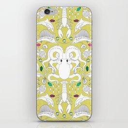 Ocean Damask iPhone Skin