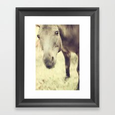 Munching Out Framed Art Print