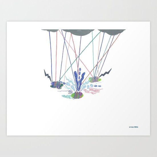 The Road to Self Actualization, I Art Print