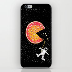 Take out pizza moon iPhone & iPod Skin