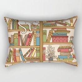 Bookshelf No. 1 Rectangular Pillow