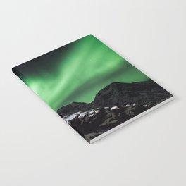 Aurora in Lofoten, Norway (II) Notebook