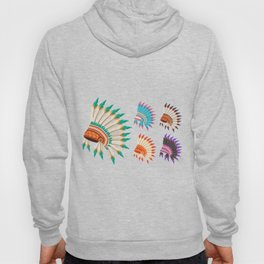 Tribe Leader Hat - American Indian Heritage Day Hoody