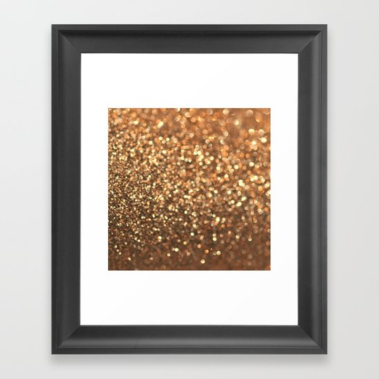 Summer Bronze Framed Art Print