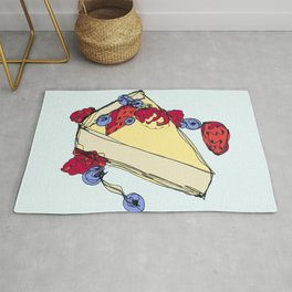 Cheesecake with Toppings Rug