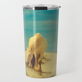 Wild Horses 7 - Color Travel Mug
