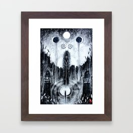 Encountering The Unseen Framed Art Print