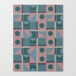 Geometrical Pattern Canvas Print