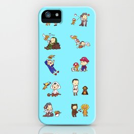 Adventures with Alistair and Guardian Lion-O iPhone Case