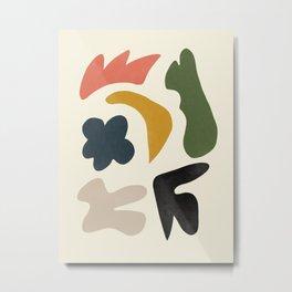Abstract Shapes # 12 Metal Print