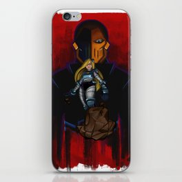 Evil Terra-forming With Deathstroke iPhone Skin