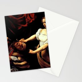 Judith Beheading Holofernes Stationery Cards