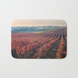 Autumnal vineyards in the Alentejo, Portugal Bath Mat