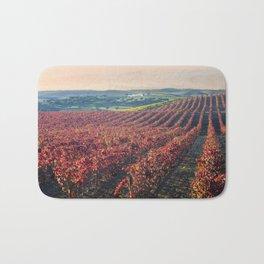 Autumnal vineyards in the Alentejo, Portugal Bath Mat