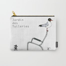 A Few Parisians: Jardin des Tuileries Carry-All Pouch