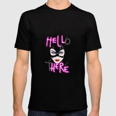 Hell Here! Catwoman Mens Fitted Tee MEDIUM Black