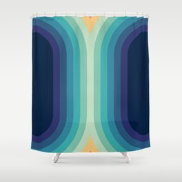 Retro Smooth 001 Shower Curtain