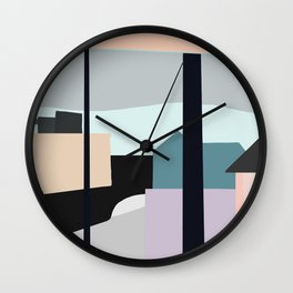 Portland Oregon Wall Clock