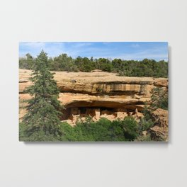 An Ancient Settlement Metal Print