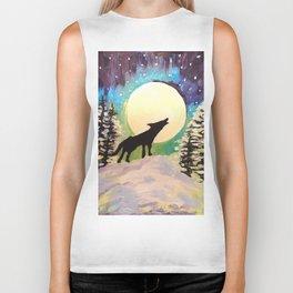 Howling at the Moon Biker Tank