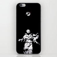 guns iPhone & iPod Skins featuring Holy Guns by MRCRMB