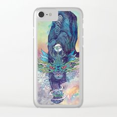Spectral Cat Clear iPhone Case