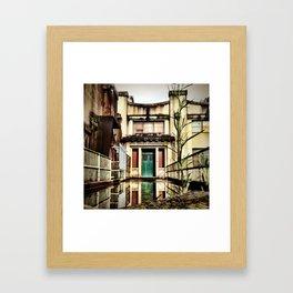 Reflection. Framed Art Print