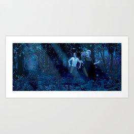 Wilde Life - Forest Run Art Print
